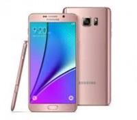 Samsung ra mắt Galaxy Note 5 màu vàng hồng cạnh tranh iPhone 6S