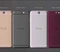 Cận cảnh smartphone HTC One A9 vừa ra mắt