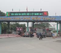 Trạm thu phí cầu Bến Thủy (Nghệ An) lại tăng 50% giá vé