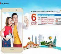 FPT Shop tặng 6 chuyến du lịch Đông Nam Á dành cho 2 người khi mua Huawei