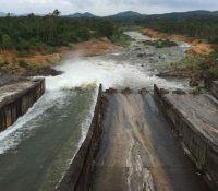 Hồ lớn nhất tỉnh Nghệ An xả nước