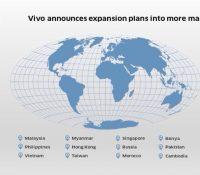 Vivo công bố kế hoạch mở rộng thị trường trên toàn cầu