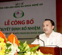 Bệnh viện tỉnh Nghệ An có giám đốc mới