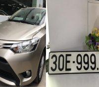 """Toyota Vios bốc được biển """"ngũ quý 9"""" bán lại với giá bao nhiêu?"""