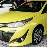 Lộ chi tiết bản thể thao TRD Sportivo mới cho Toyota Yaris