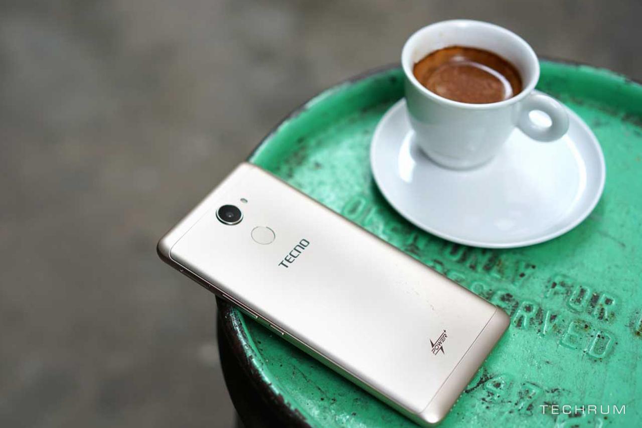 Tecno L9: Smartphone thiết kế kim loại ,cảm biến vân tay  giá chỉ 2 triệu