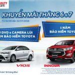 Toyota Vinh triển khai chương trình khuyến mãi cho khách hàng mua xe Innova và Vios Tháng 6&7