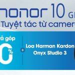 Trên tay Honor 10: Màu xanh lá tuyệt đẹp, hai mặt kính, tai thỏ, cấu hình cao