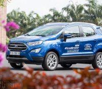 Doanh số Ford EcoSport sụt giảm, nguy cơ mất ngôi vương vào tay Hyundai Kona