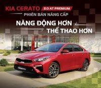 Kia Cerato 2.0 AT Premium Phiên Bản Nâng Cấp Năng Động Hơn, Thể Thao Hơn