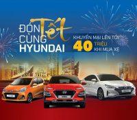 Hyundai Vinh thực hiện chương trình khuyến mại lên đến 40 triệu đồng dành cho Hyundai KONA, Elantra và Grand i10
