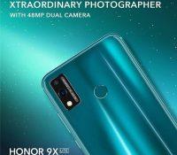 Honor 9X Lite sắp ra mắt với dịch vụ của Google và camera kép 48MP