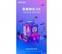 Honor 8A sẽ được công bố vào ngày 08 tháng 1