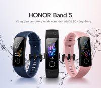 """5 tính năng """"không thể không yêu"""" của vòng đeo tay sành điệu HONOR Band 5"""