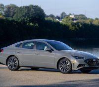 Hình ảnh Hyundai Sonata thế hệ mới ra mắt tại Mỹ