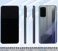 Honor X10 lộ ảnh kèm cấu hình trên TENAA: Màn hình không viền, 4 camera sau