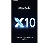 Honor X10 được xác nhận sẽ ra mắt vào ngày 20 tháng 5