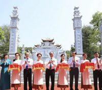 Khánh thành Đền thờ Gia tiên Chủ tịch Hồ Chí Minh