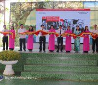 """Khai mạc triển lãm """"Hồ Chí Minh, những nét phác họa chân dung"""" tại Khu di tích Kim Liên"""