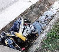 Quế Phong: Xe máy lao xuống mương nước, anh rể và em vợ tử vong