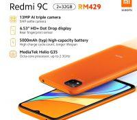 Xiaomi Redmi 9A và Redmi 9C chính thức ra mắt, giá chỉ từ 1.95 triệu đồng