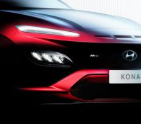 Hyundai Kona hé lộ hình ảnh thiết kế nâng cấp