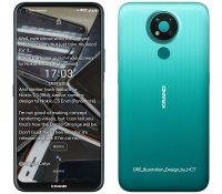 """Lộ ảnh render Nokia 3.4 với thiết kế màn hình """"đục lỗ"""", camera sau hình tròn bắt mắt"""
