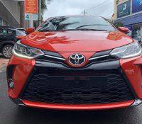 Ảnh thực tế Toyota Yaris 2021 vừa về Việt Nam