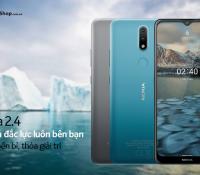 Nokia 2.4 giảm 200.000 đồng, trả góp 0% lãi suất tại FPT Shop